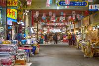 Colorful Korean Marketplace