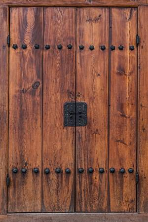 Door and Texture of Bukchon Hanok Village