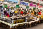 "Gwangjang Market Food Stalls by James ""BO"" Insogna"