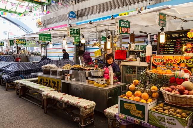 Gwangjang Market Views