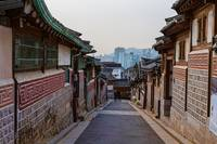 Walking Bukchon Hanok Village