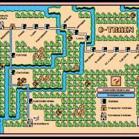 """Ottawa O-Train Map in SMB3 Style"" by originaldave77"