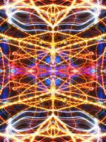 ABSTRACT LIGHT STREAKS #61, Edit D