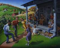 Folk Dancing Mountain Music Appalachian Folk Art