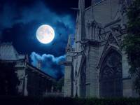 Moon Light over Norte Dame