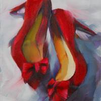 Hot Red Heels by Beth Charles