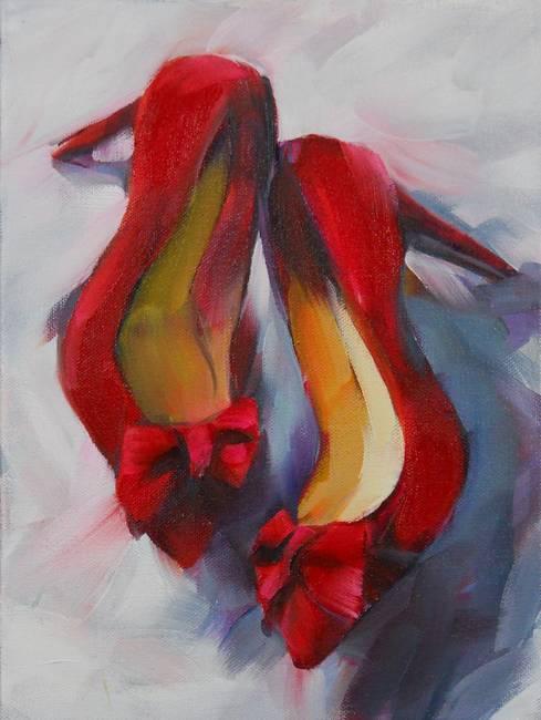 Hot Red Heels