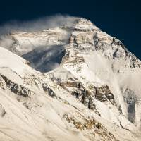 Mount Everest from Tibet Basecamp Art Prints & Posters by Harry Kikstra