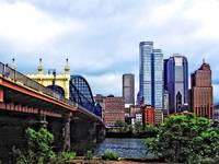 Pittsburgh PA - Pittsburgh Skyline by Smithfield S