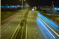 M6 at night