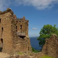 Inverness Scotland Urquhart Castle by Richard Thomas