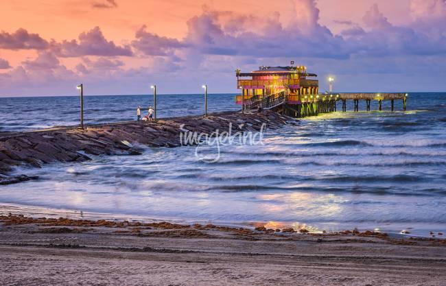 Stunning galveston artwork for sale on fine art prints for Galveston fishing pier