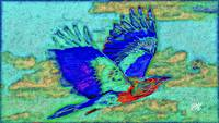 Abstract Bird Art 10