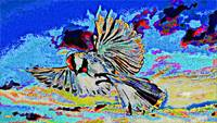 Abstract Bird Art 3