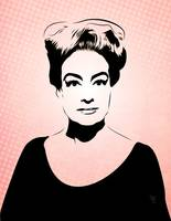 Joan Crawford - Hollywood Royalty - Pop Art