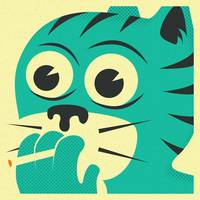 SMOKING CAT