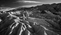Death Valley Zabriskie Point (vallery - B/W)