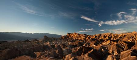 Death Valley Zabriskie Point (Wide)