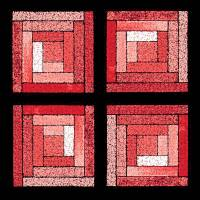Rose Quilt Squares by Karen Adams