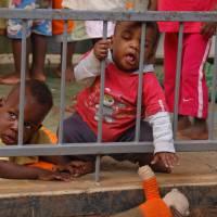 Sanyu Babies Home Uganda Art Prints & Posters by Dylan Walters
