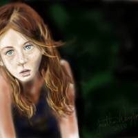 Red Haired Girl Art Prints & Posters by Jonathan Wangsgard