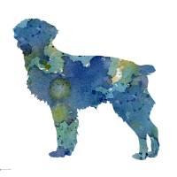 """Blue Brittany"" by k9artgallery"