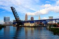 Cleveland Skyline from Across the River