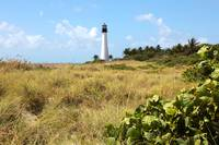 Bill Baggs Lighthouse with Dunes by Carol Groenen