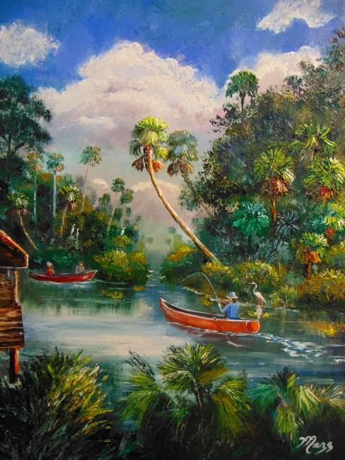 Dorsal Fishing St Lucie River Stuart Florida