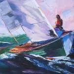 Sailing Solitude by Beth Charles