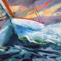 """""""For the Love of Sailing"""" by BCArt"""