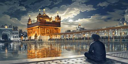 Golden Temple - Meditations Under Moonlight