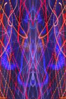 ABSTRACT LIGHT STREAKS #106