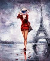 Woman in Paris