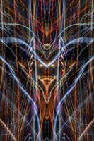 ABSTRACT LIGHT STREAKS #125