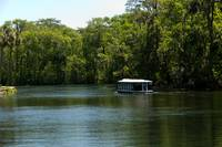 Glass Bottom Boat on Silver Springs