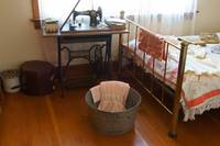 Vintage bedroom Dawson Creek