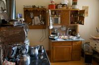 Vintage kitchen Dawson Creek Canada