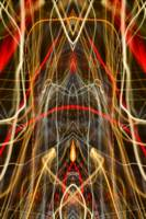 ABSTRACT LIGHT STREAKS #130
