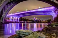 Under the Purple Bridge