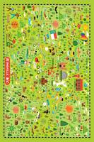 Illustrated Map of Asheville, NC by Nate Padavick
