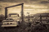 Old Ford at the Farm