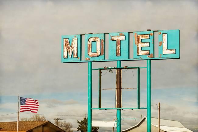 American Retro Motel Sign