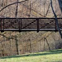 Bridge Reflections by Karen Adams