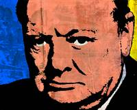 WINSTON CHURCHILL (COLOUR)