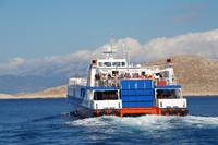 Halki catamaran ferry, Greece
