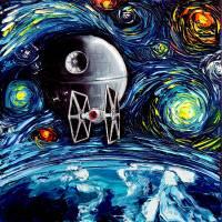 """van Gogh Never Saw The Empire"" by SagittariusGallery"