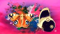 Abstract Butterfly Art 18