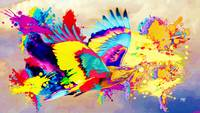 Abstract Bird Art 17