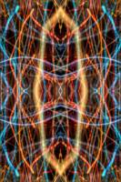 ABSTRACT LIGHT STREAKS #151